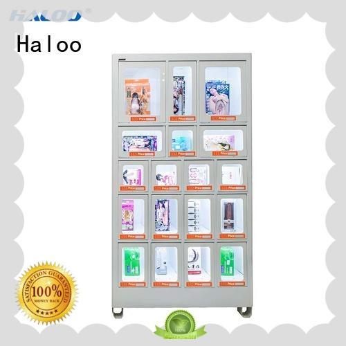 Haloo power-off protection food vending machines design for adult toys