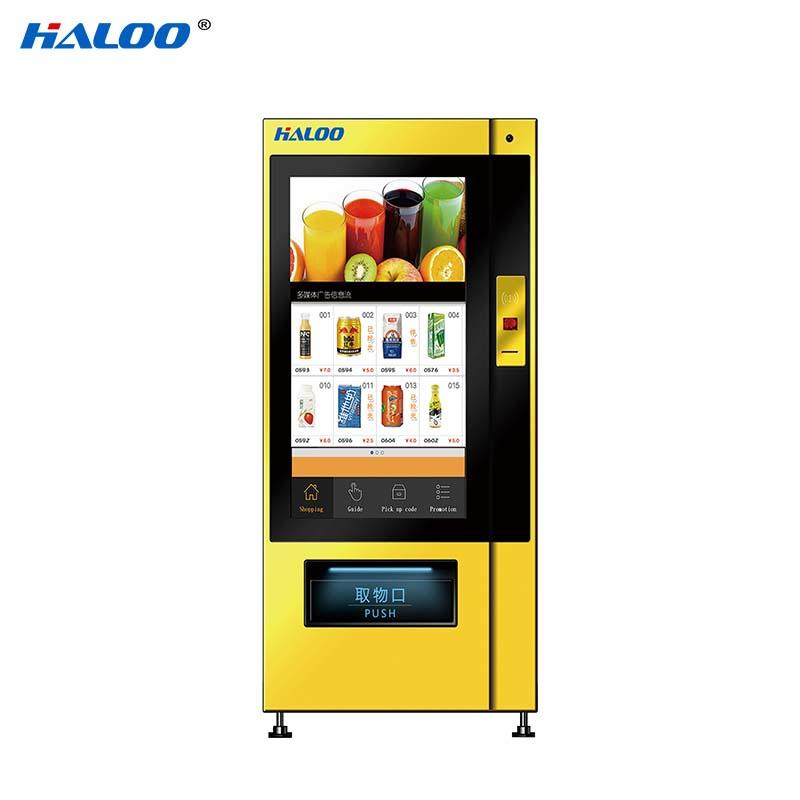 Haloo touch screen vending machine price series for shopping mall-1