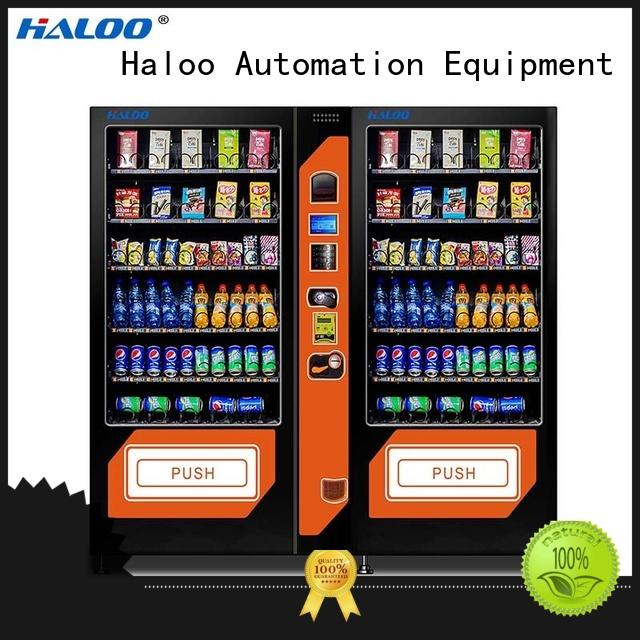 Haloo professional cold drink vending machine manufacturer for food