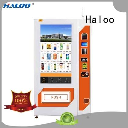 Haloo snack vending machine series for shopping mall