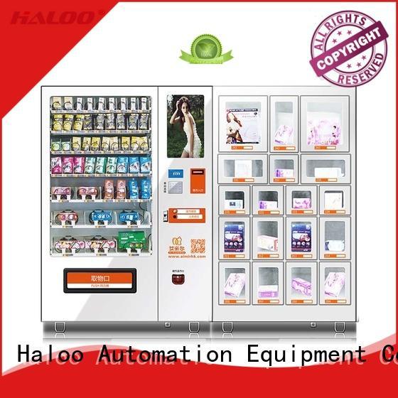 Haloo condom machine customized for pleasure