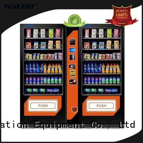 high quality combo vending machines customized for snack