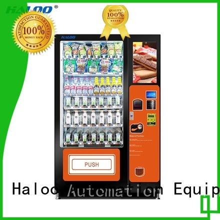 GPRS remote control sandwich vending machine factory for drinks