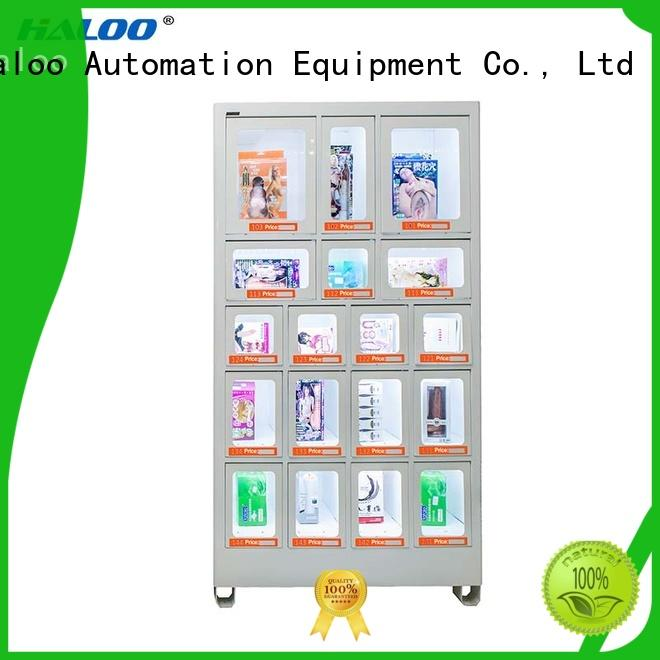 Haloo convenient small vending machines for adult toys