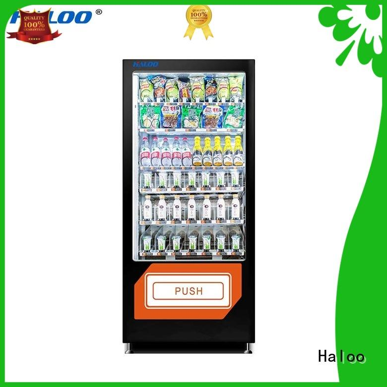 Haloo candy vending machine design for drinks