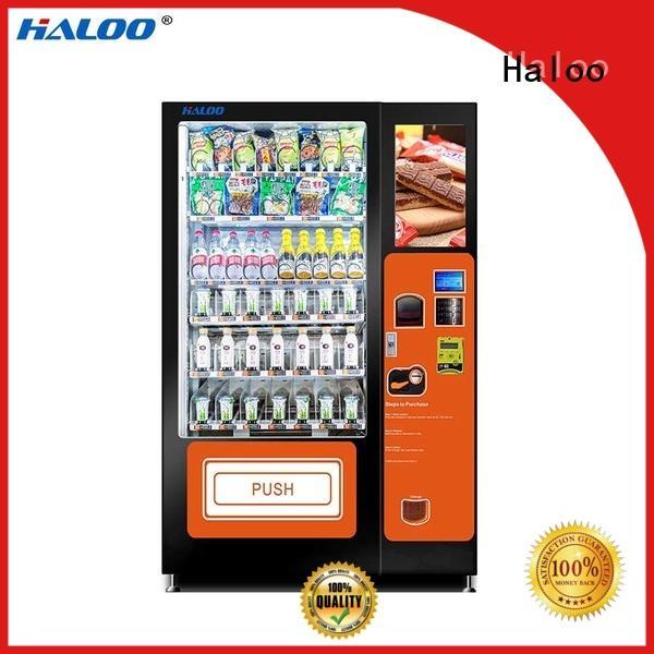Haloo sandwich vending machine series for fragile goods