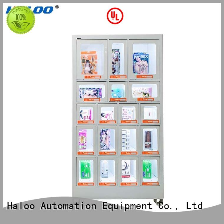 Haloo automatic healthy vending machine snacks wholesale for snack