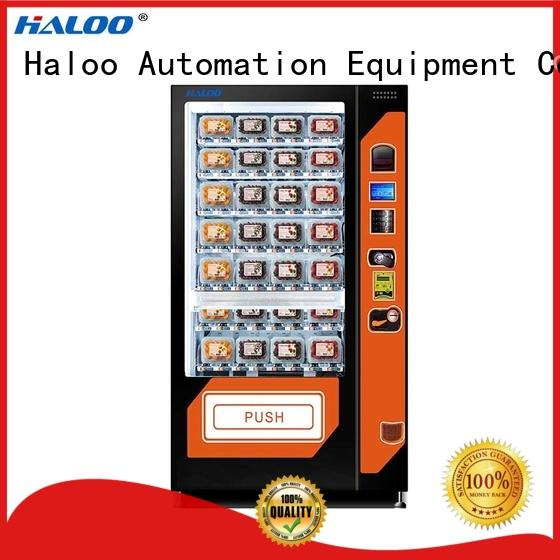 Haloo cool vending machines series for fragile goods