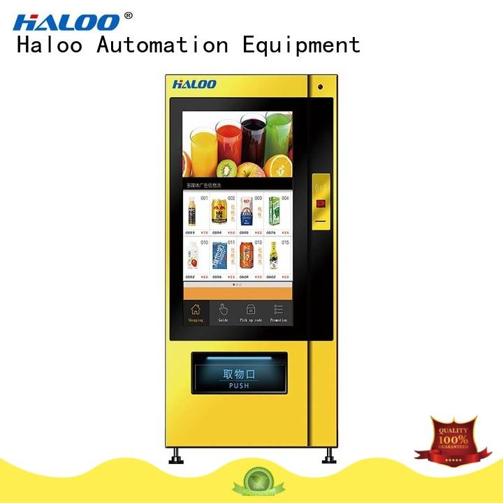 Haloo medicine vending machine manufacturer for merchandise