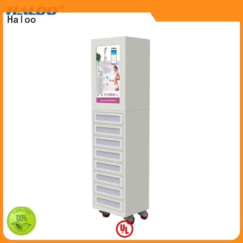 Haloo intelligent recycling vending machine customized for purchase