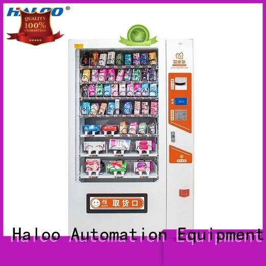Haloo condom vending machine directly sale for shopping mall