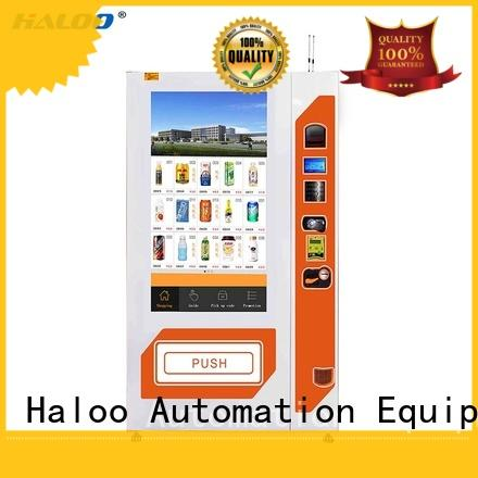 Haloo GPRS remote manage vending machine price wholesale for merchandise