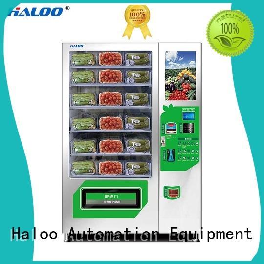 Haloo water vending machine design for drinks