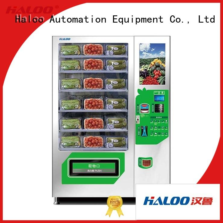 Haloo sandwich vending machine series for red wine