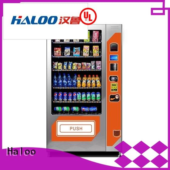 Haloo cold drink vending machine wholesale for food
