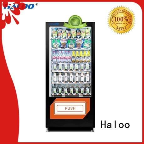 Haloo power-off protection coke vending machinee manufacturer for adult toys
