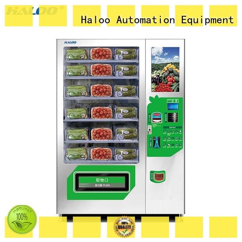 Haloo large capacity toy vending machine manufacturer for drinks