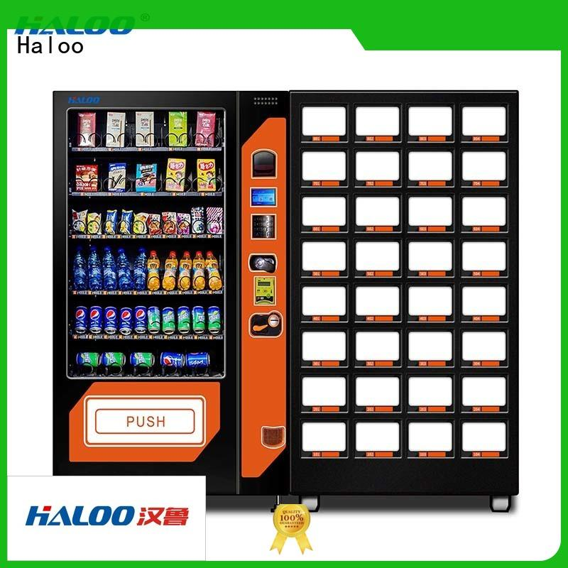 Haloo anti-theft coffee vending machine design for food