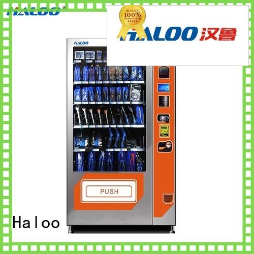 Haloo automatic chocolate vending machine wholesale for food