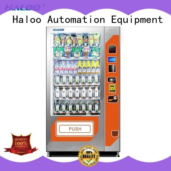 large capacity red bull vending machine design for fragile goods Haloo
