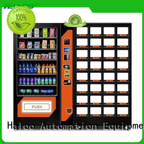 DLE-10C+CRE-4A Drink &snack vending machine black