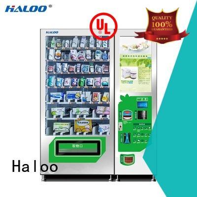 Haloo smart soda vending machine manufacturer for shopping mall