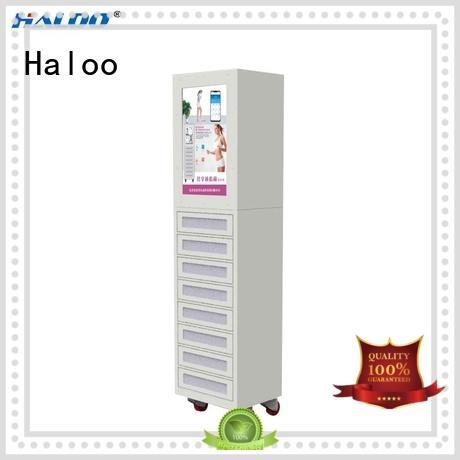 high capacity vending kiosk wholesale for purchase Haloo