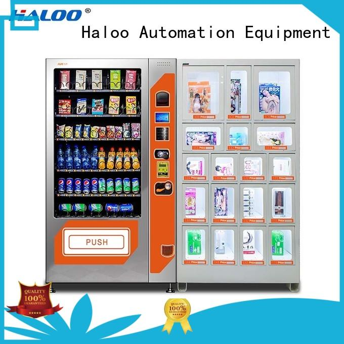 condom vending customized for adults Haloo