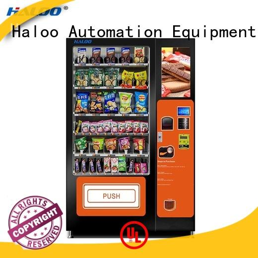 Haloo drink vending machine design for shopping mall