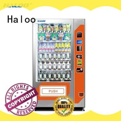 Haloo durable water vending machine factory for red wine