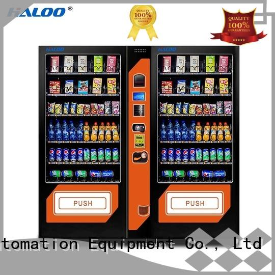 cold drink vending machine customized for snack Haloo