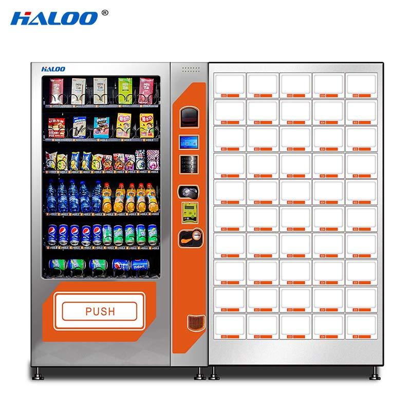 Haloo high capacity soda snack vending design for drink-2