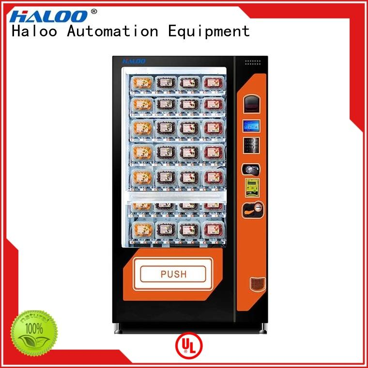 Haloo large capacity sandwich vending machine factory for red wine