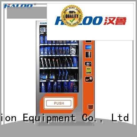 Haloo cold drink vending machine customized for snack