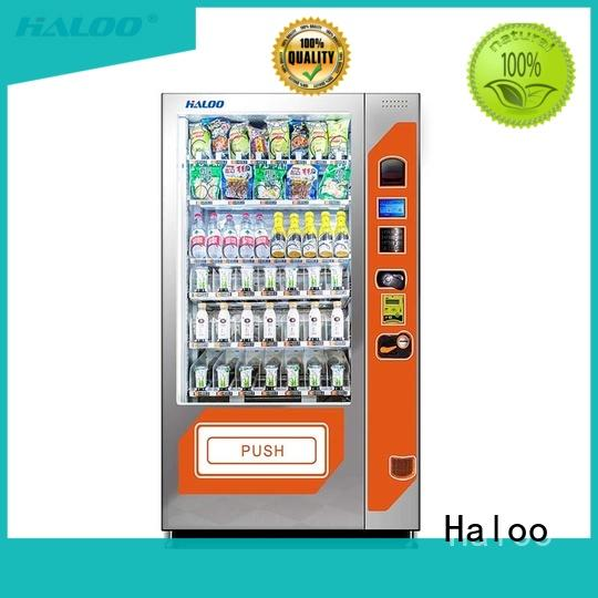 Haloo fruit vending machine manufacturer for drinks