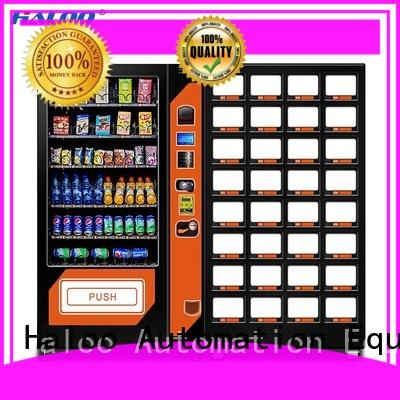 Haloo beverage vending machine factory direct supply for food