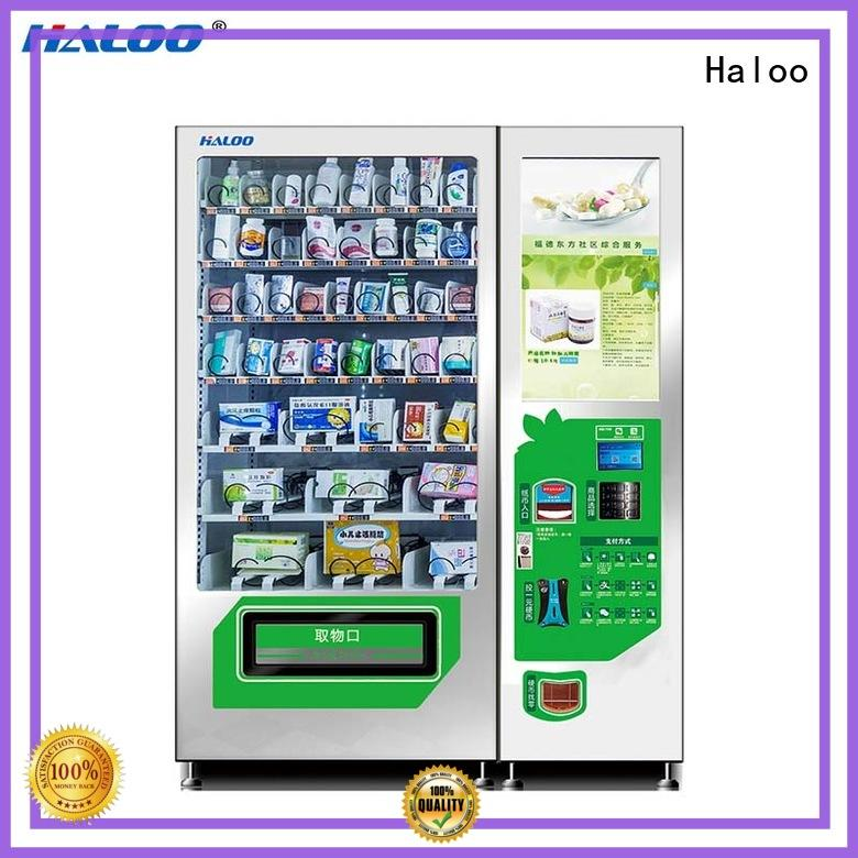 Haloo intelligent medicine vending machine factory