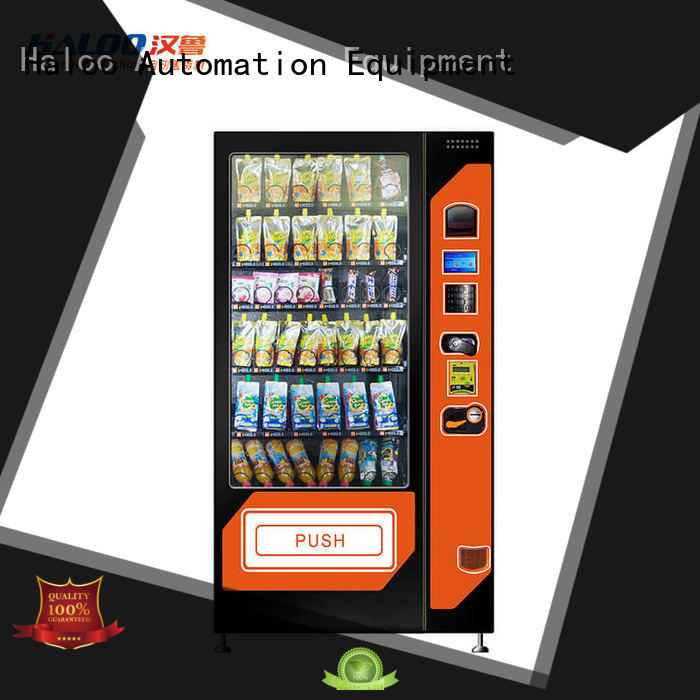 coffee vending machine selfservice for food Haloo