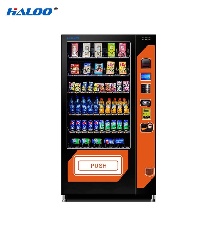 chips vending machine spring aisle for drink Haloo
