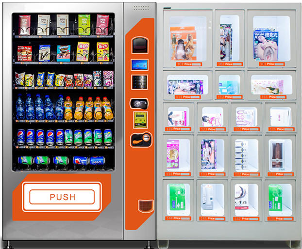 Combo Adults Sex Dolls Condom Vending Machine