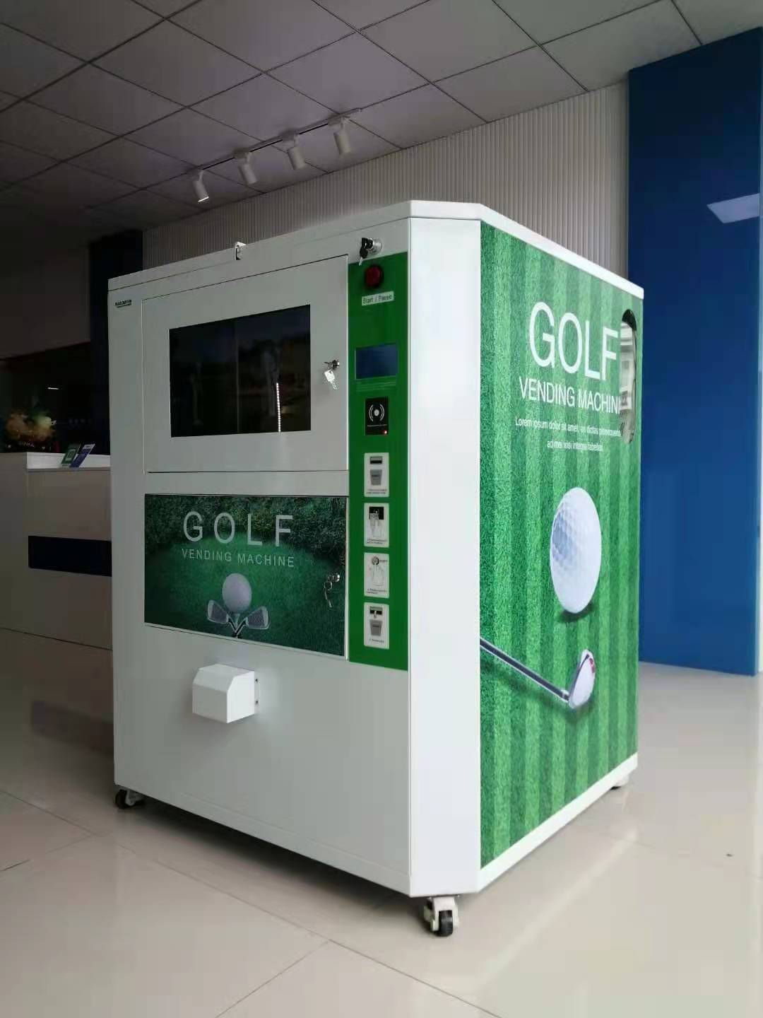 Golf Ball Version I Self Service Vending Machine
