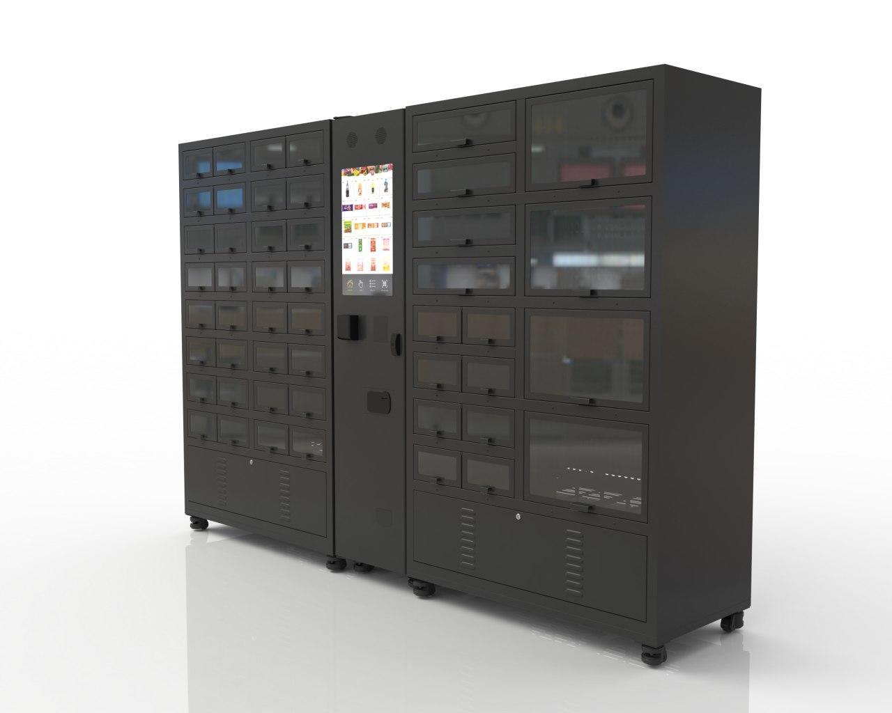 Fresh refrigerated lattice cabinet