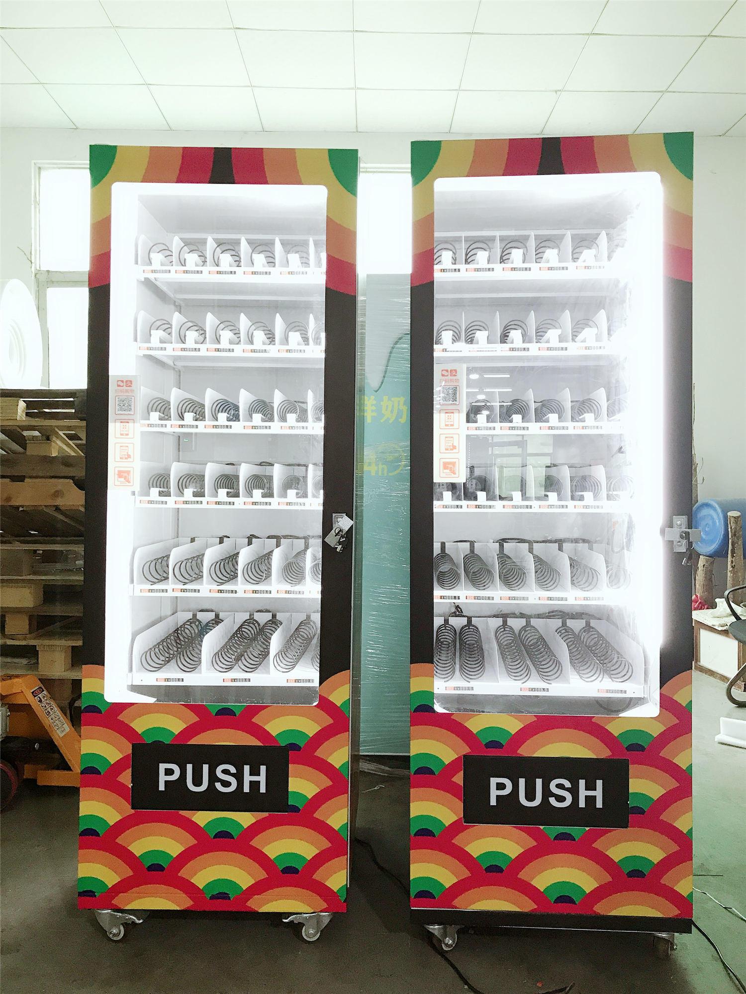 36-slot vending machine