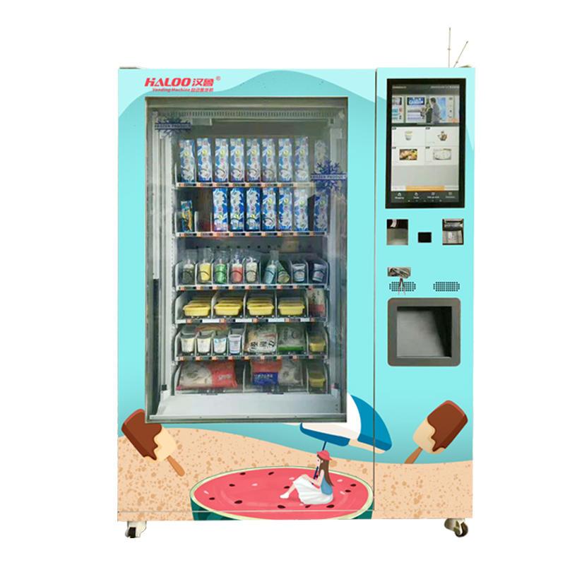 Ice cream vending machine frozen food delivery machine