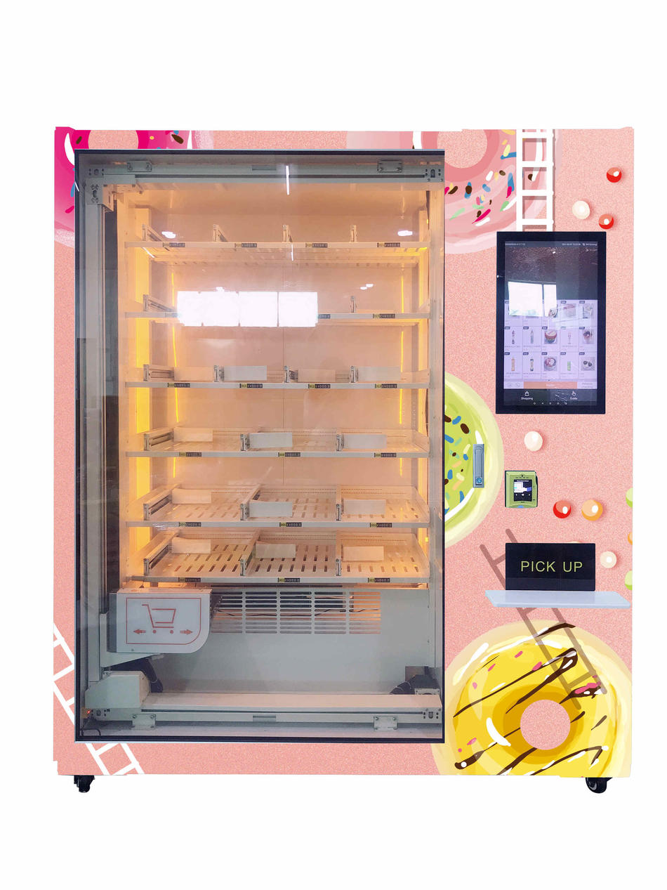 XY axis Vending Machine with  Lifting systerm Side Pick Up Elegant