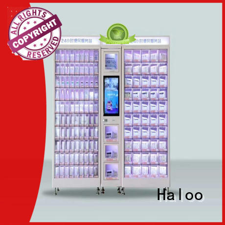Haloo professional coke vending machinee wholesale for snack