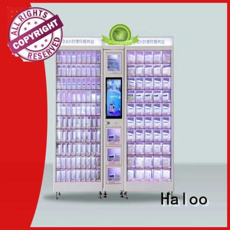 Haloo professional coke vending machinee wholesale for snack