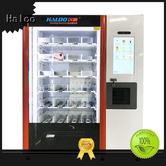 Haloo Frozen food vending machine
