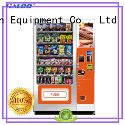 Haloo convenient combo vending machines wholesale for food