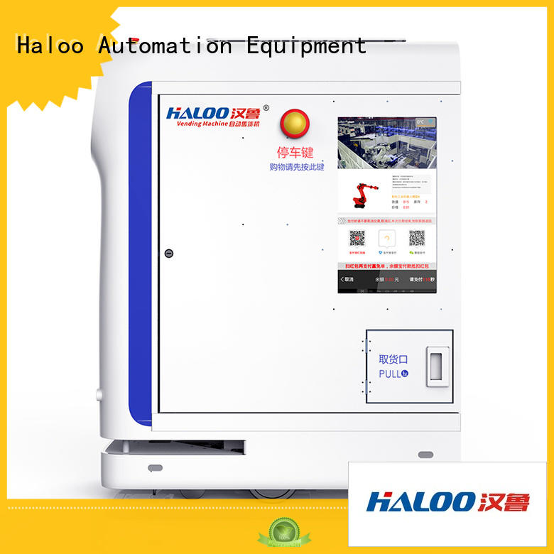 Haloo automatic robot vending machine design for lucky box gift